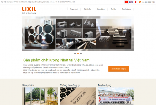 LIXIL Global Manufacturing Vietnam Co., Ltd. CORPORATE SITE